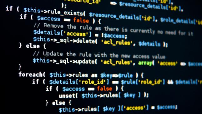 код программы написанной программистом